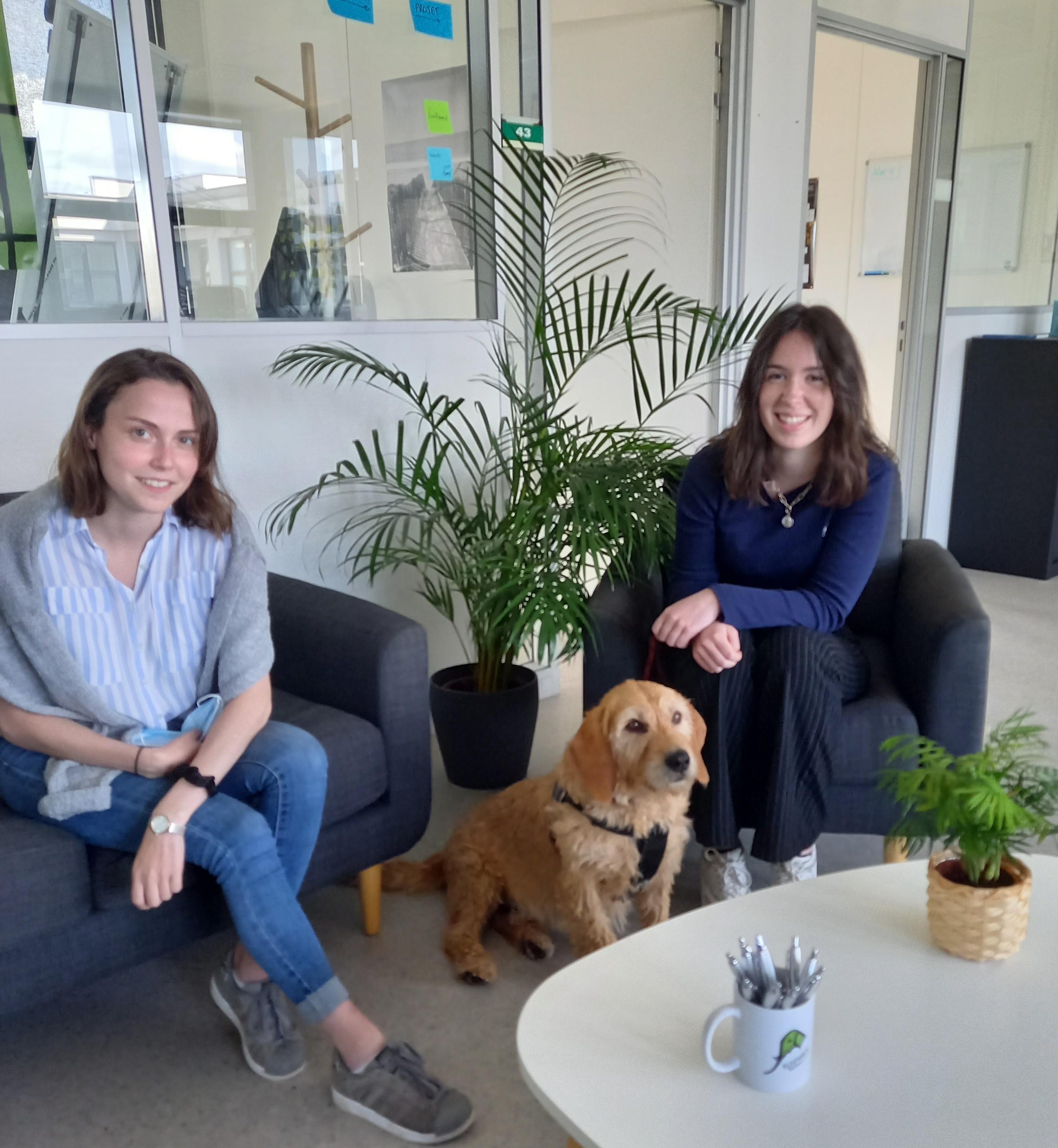 Nouvelles stagiaires en RH et marketing - Klara et Julie